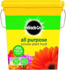 miracle gro all purpose soluble plant food tub 2 kg amazon co uk