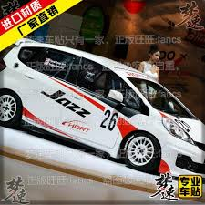 honda car stickers speed dreams honda fit car stickers garland vehicle stickers fit