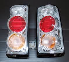 chrome clear rear light upgrade kit opel vauxhall frontera isuzu