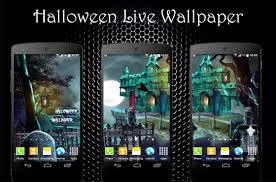 halloween wallpapers for android phone halloween live wallpaper android apps on google play