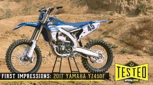 2017 yamaha yz450f reviews comparisons specs motocross