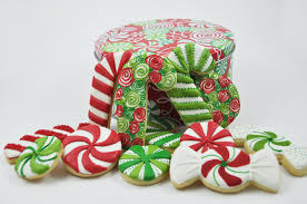candy canes christmas candy sugar cookies cute decorated