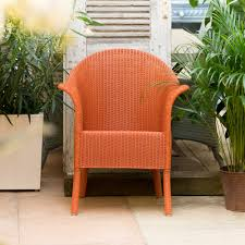 vclassic armchair buy burnt orange lloyd loom classic armchair genuine lloyd loom