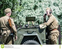 russian jeep ww2 reconstruction of the second world war two russian soldiers com