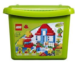 lego duplo bricks more deluxe brick box 5507 toys