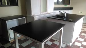 cuisine granit noir best table de cuisine noir gallery amazing house design