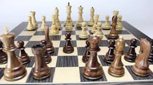 Cool Chess Set The Zagreb Chess Set In Golden Rosewood Youtube