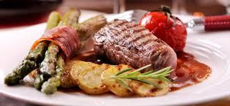 gourmet food gourmet steak plate search catering tca 379