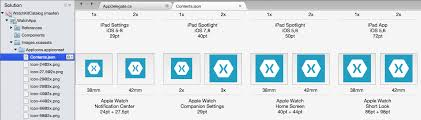 android app icon size working with icons xamarin