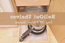 kitchen fresh kitchen cabinet pull out shelf style home design