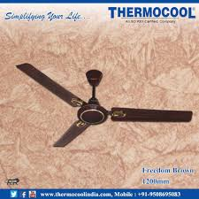 Manufacturers Of Ceiling Fans Thermocool India