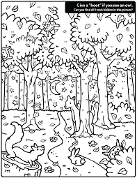 owl coloring pages free printables hidden owl find coloring page