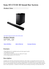 sony home theater customer service download free pdf for sony ht ct150 home theater manual