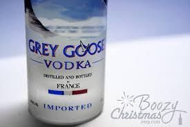 grey goose ornament grey goose vodka themed tree