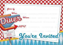 1950s birthday invitations gallery invitation design ideas