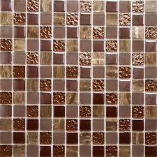 Mosaic Bathroom Floor Tile Ideas Marble U0026 Glass Chocolate Tiles Natural Stone U0026 Glass Mosaic Mosaic