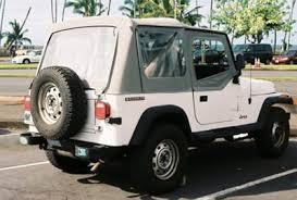 1987 jeep wrangler yj hawaiian wrangler yj