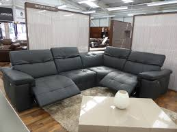 Corner Sofa Recliner Amazing Grey Reclining Sofa 54 Sofas And Couches Ideas With