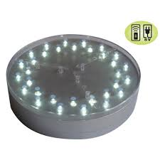 6 centerpiece mini light base e maxi 32 w 32 rgb led lights