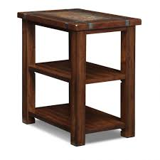 cherry end tables queen anne furniture cherry end table slate ridge american signature