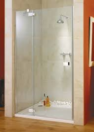 Shower Hinged Door Italia Vittoria Frameless Pivot Shower Door 1200 Silver