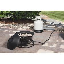 Gas Fire Pit Bowl Bond Solara 18 In Gas Bowl Fire Pit 68183 Crafty Beaver