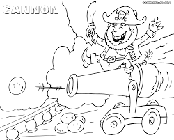 cannon coloring pages coloring pages to download and print