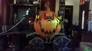 extremely rare 2012 gemmy halloween inflatable airblown 9ft