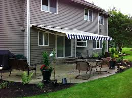 Sunscreen Patios And Pergolas by Retractable Awnings For Your Deck And Patio American Sunscreens