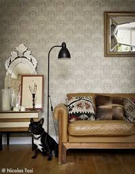 modele tapisserie chambre modele papier peint salon avec tapisserie cuisine moderne idees et