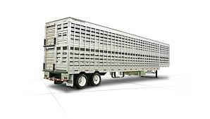 Interior Dimensions Of A 53 Trailer Semi Livestock Trailers Featherlite Trailers