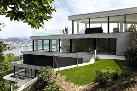 hillside home designs modern hillside house designs enchanting modern hillside house