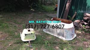 Bathtub Refinishing Indianapolis Tub Reglazing Indianapolis Youtube