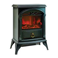 Comfort Flame Fireplace Czfp4 Ceramic Electric Fireplace Stove Fan Forced Heater Black