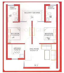1200 sq ft 2 bhk floor plan image srs group affordable housing
