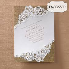 burlap wedding invitations lace and burlap wedding invitations flamingo