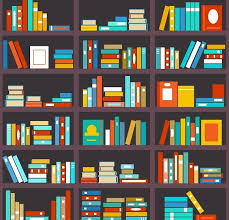 Background Bookshelf Bookshelf Seamless Background Graphics Creative Market