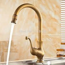 retro kitchen faucets 2018 deck mounted bronze kitchen sink faucets antique brass