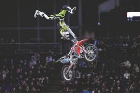 freestyle motocross uk first ever motorcycle jump over bournemouth u0027s historic pier