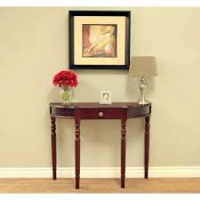 half circle accent table half circle wood frenchi home furnishing console tables