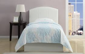 bedroom lovely shabby white painted twin cane headboard by