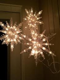 ge twinkling snowflake lights ge 10 75 in 108 light 3d hanging star with clear random sparkle