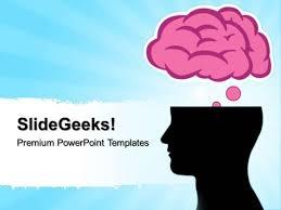 templates for powerpoint brain brain silhouettes science powerpoint templates and powerpoint themes