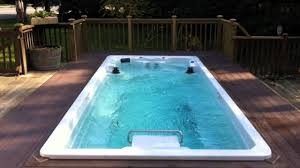 Pool Images Backyard by Endless Pools Swim Spas Youtube