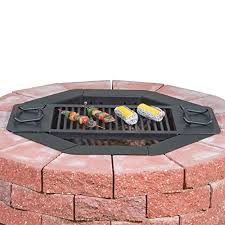 Square Fire Pit Insert by Amazon Com Heavy Duty Bolt Together Campfire Ring Or Fire Pit