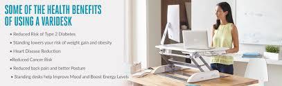 are standing desks good for you health benefits of standing desks varidesk nz