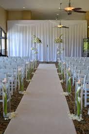 wedding aisle decor candle lit walk aisle ideas for wedding