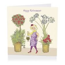 retirement card floral happy retirement card karenza paperie