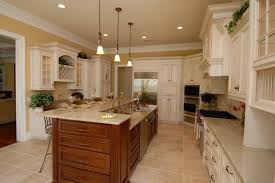 awesome antique white glazed kitchen cabinets magnificent kitchen