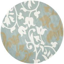 6 X 6 Round Area Rugs by Safavieh Soho Sage Multi 6 Ft X 6 Ft Round Area Rug Soh824a 6r